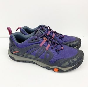 Merrell M Connect Trail Shoes Violet Blue Size 9.5